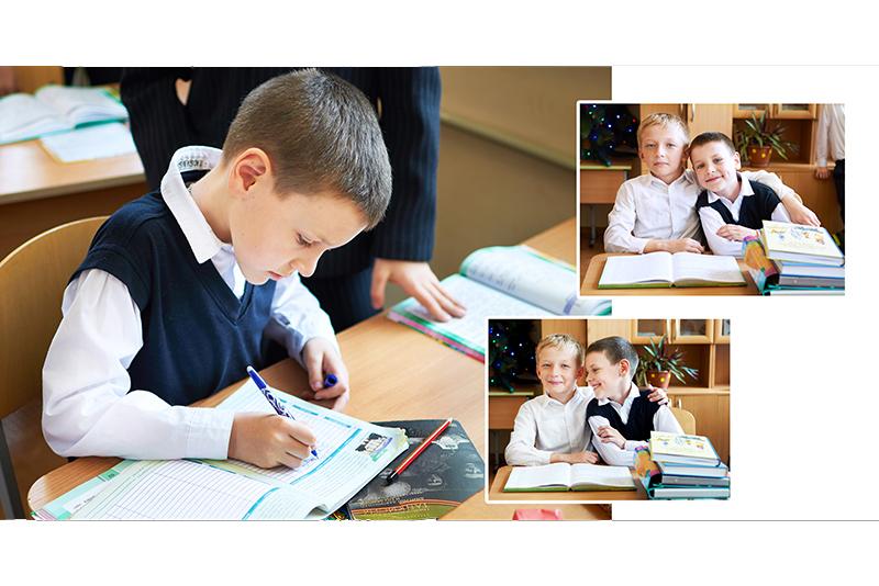 Персональная фотокнига для начальной школы